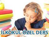 İlkokul öğrencilerine özel ders verilir.