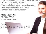 TECRÜBELİ CALL CENTER EKİP ARKADAŞI ARIYORUZ!