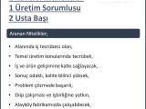 USTA BAŞI - MÜNHAL