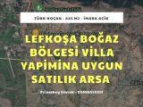 Lefkoşa Boğaz Bölgesinde 645 ve 801 m2 Satılık Arsalar