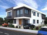 ????Gönyeli Bölgesinde 4+1 Satılık İkiz Villa 2021 Aralık Teslim