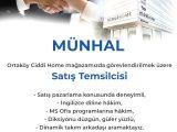 SATIŞ TEMSİLCİSİ - Münhal