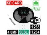 OPAX-1115 4.2 MP (2048x2048) H.264/H.265 SD CARD, POE, WiFi