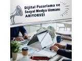 Dijital Pazarlama ve Sosyal Medya Uzmanı Arıyoruz